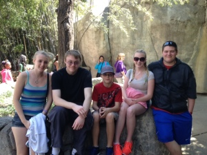 Zoo with the kids!