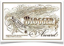 Very Inspiring Blogger Award!